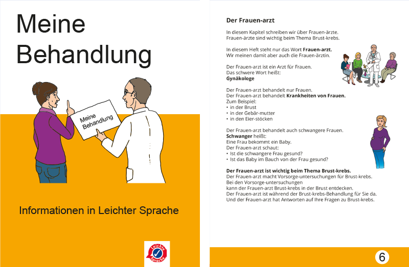 Informationen in Leichter Sprache